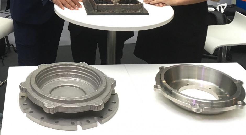 Druk 3D dużych części metalowych dla niemieckich kolei