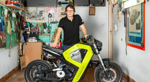 Druk 3D pozwolił stworzyć pierwszy polski motocykl elektryczny. Będzie produkcja seryjna