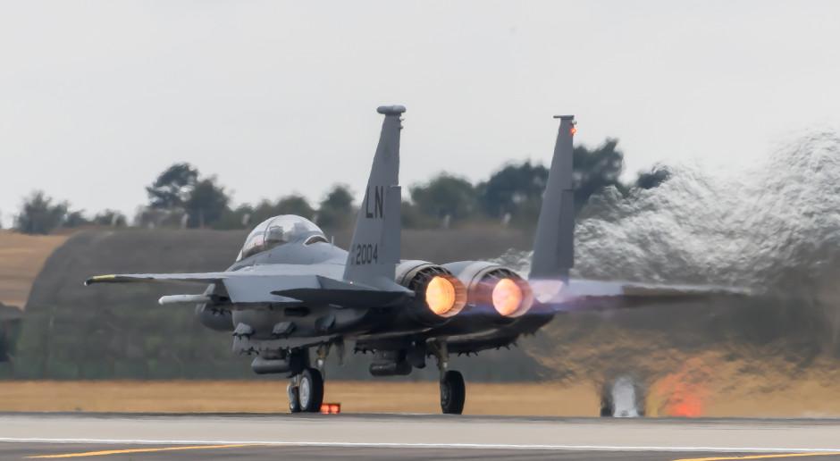 Pentagon: amerykańskie myśliwce przyleciały do Polski w ramach ćwiczeń