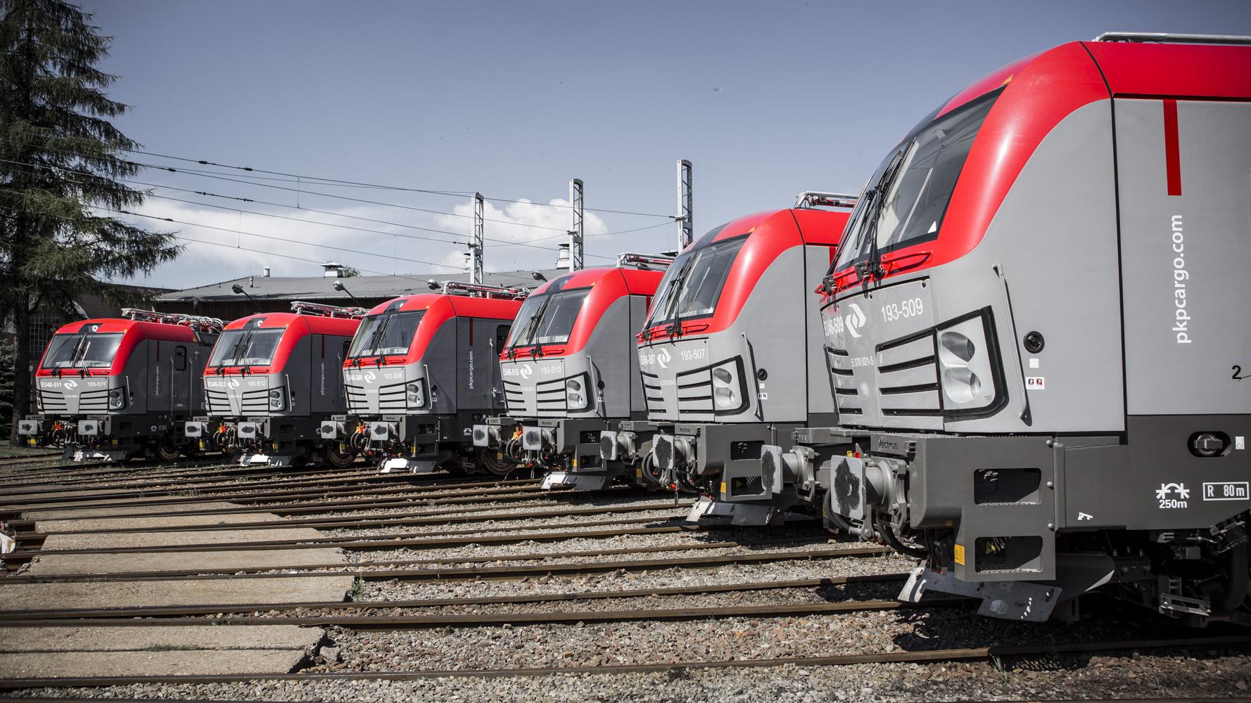 We flocie PKP Cargo do końca roku będzie 20 lokomotyw Vectron MS. Fot. PKP Cargo