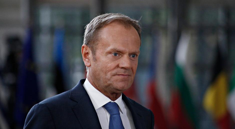 Donald Tusk wciąż liczy na porozumienie w sprawie brexitu