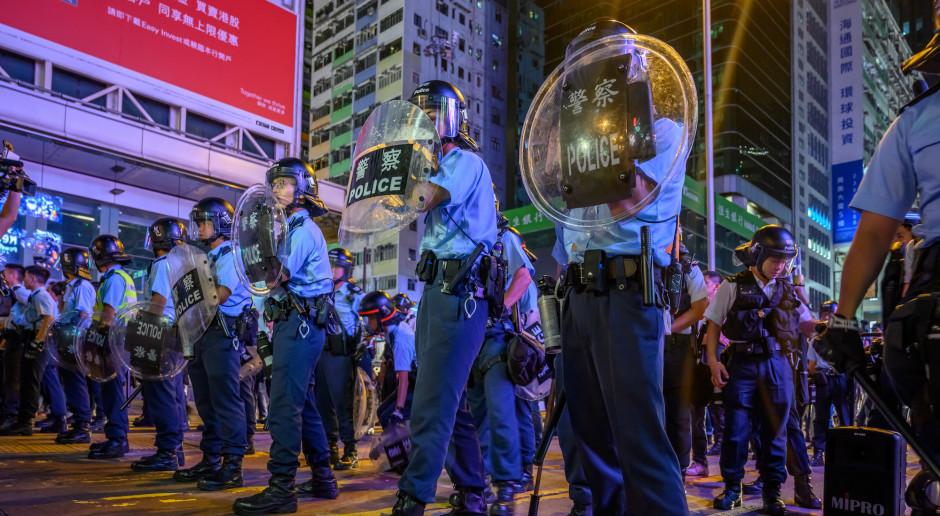 Kolejne starcia w Hongkongu