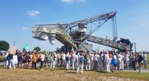 Ekolodzy wdarli się na teren kopalni węgla brunatnego