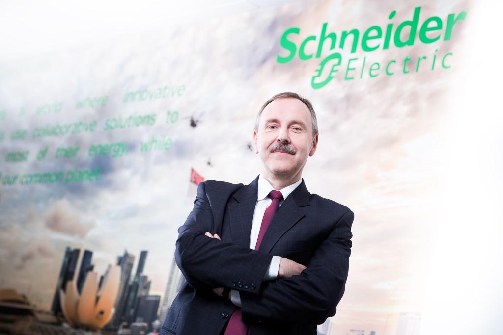 Michał Ajchel, wiceprezes rynku energetyki Schneider Electric Polska, fot. mat. prasowe