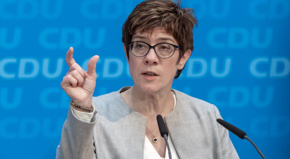 Szefowa CDU została zaprzysiężona na niemieckiego ministra obrony