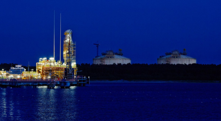 Polskie LNG może już wystąpić o pozwolenie na budowę ws. rozbudowy terminala