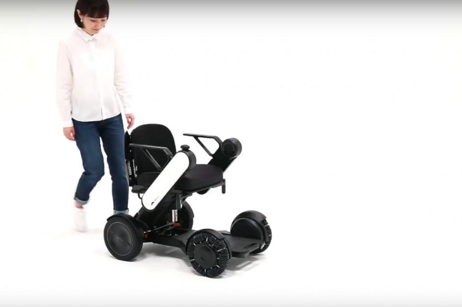 Whill - japoński wózek inwalidzki o napędzie elektrycznym. Fot. Mat. pras / YT