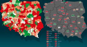 Tak wyludniają się polskie miasta i powiaty. Zobacz mapę