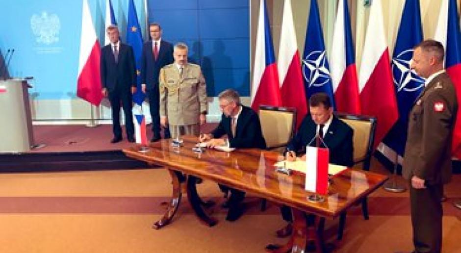 Zawarto polsko-czeskie porozumienie o wojskowej współpracy lotniczej