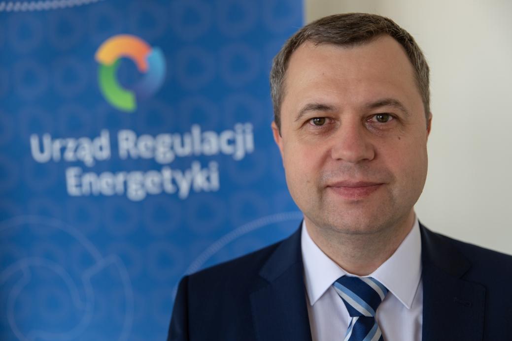 Rafał Gawin, Prezes URE ( Fot. mat URE)