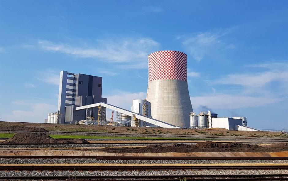 Nowy blok w Elektrowni Jaworzno III, fot. PTWP
