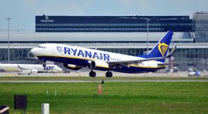 Ogromny spadek liczby przewiezionych przez Ryanaira pasażerów
