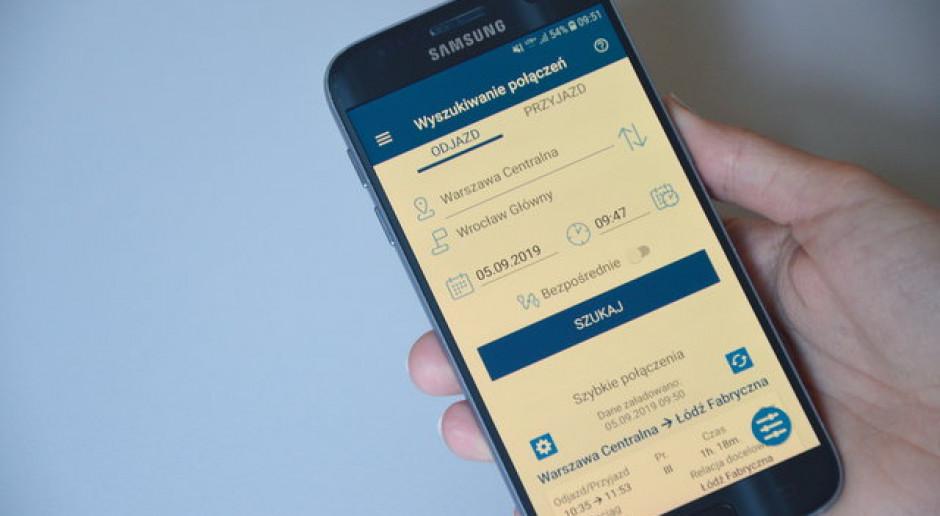 PKP PLK udostępniły aplikację mobilną z rozkładem jazdy pociągów