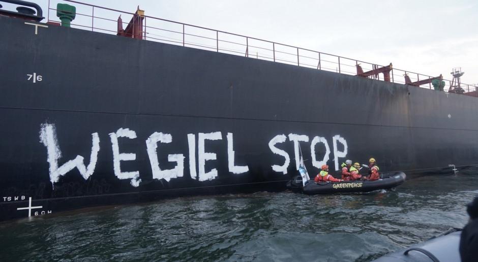 Ekolodzy chcieli zablokować w Porcie Gdańsk transport węgla z Mozambiku