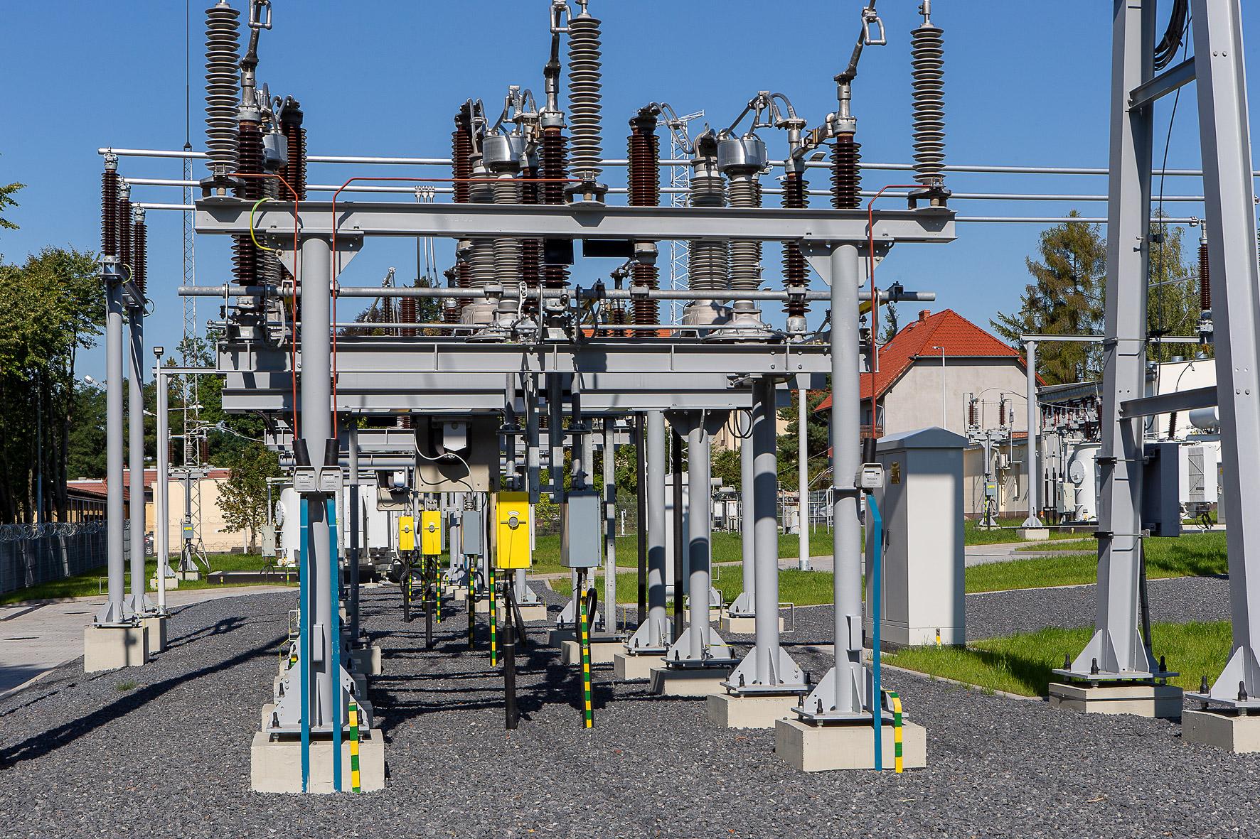 Stacja energetyczna ( Fot. mat. Tauron)