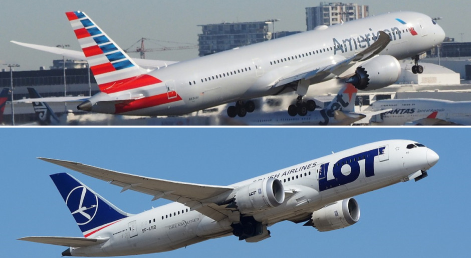 American Airlines i LOT powalczą w Krakowie o pasażerów