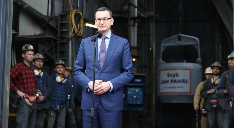 Premier: zasoby kopalni Bzie-Dębina będą budować potęgę polskiego przemysłu