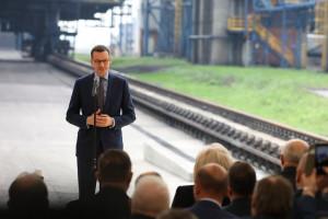 Mateusz Morawiecki zachwala budowę elektrociepłowni w Koksowni Radlin