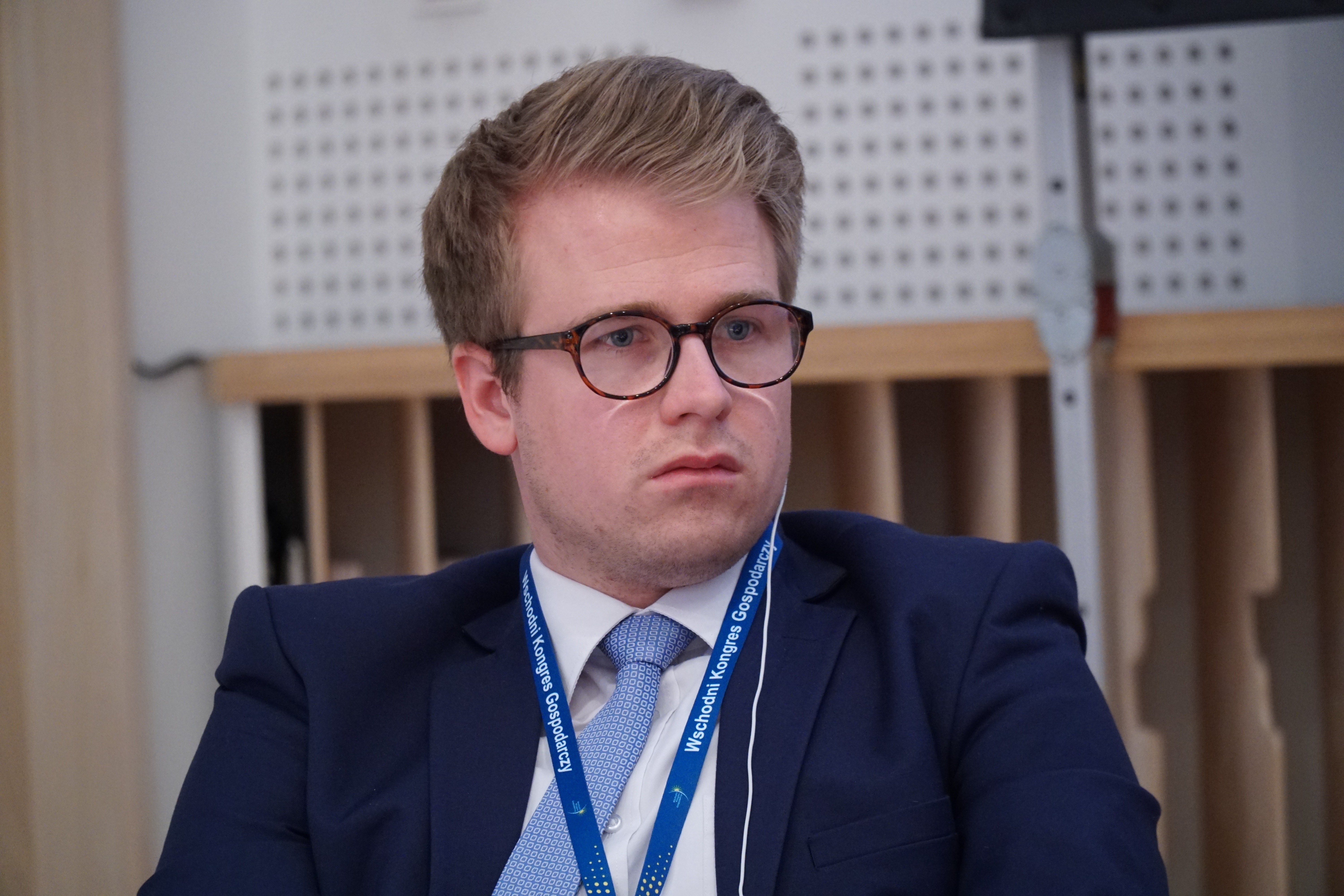 Niklas Becker, Director Poland w Germany Trade & Invest (Fot. PTWP)