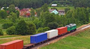 Spadła masa towarów przewiezionych koleją