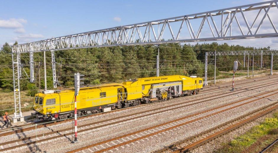 Budimex modernizuje odcinki linii kolejowej Warszawa - Lublin. Zobacz zdjęcia