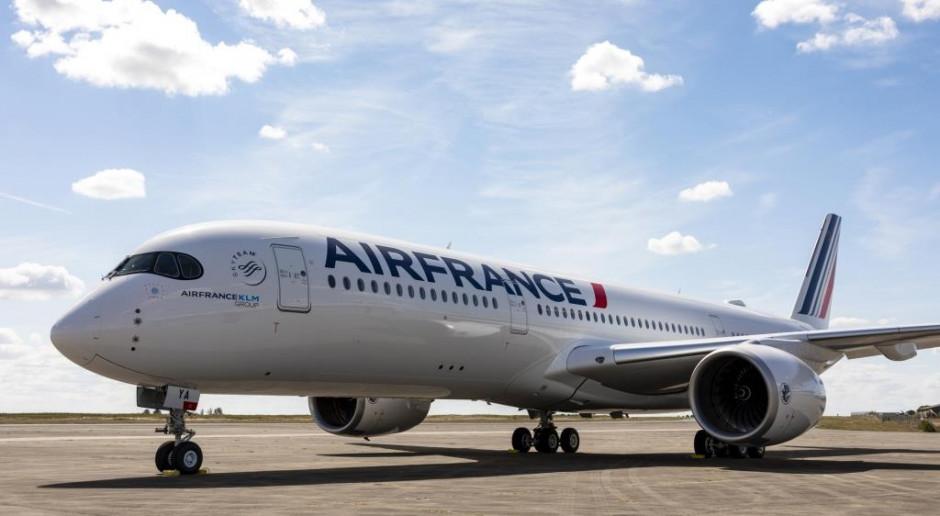 Pierwszy A350 w barwach Air France