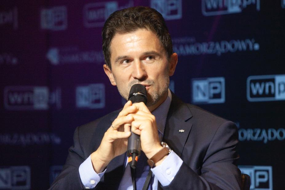 Emil Andryszczyk, dyrektor Departamentu Strategii, Projektów i Organizacji w Banku Ochrony Środowiska