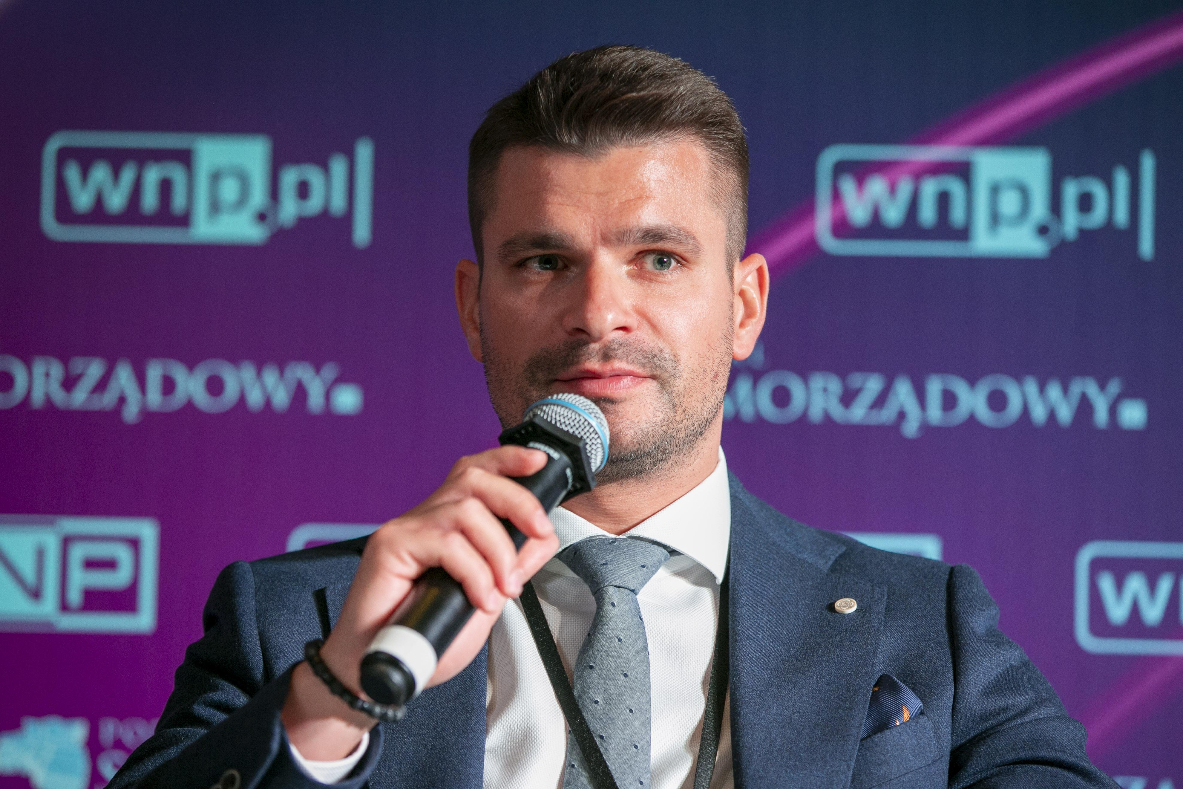 Piotr Listwoń, wiceprezes Towarowej Giełdy Energii (Fot. PTWP)
