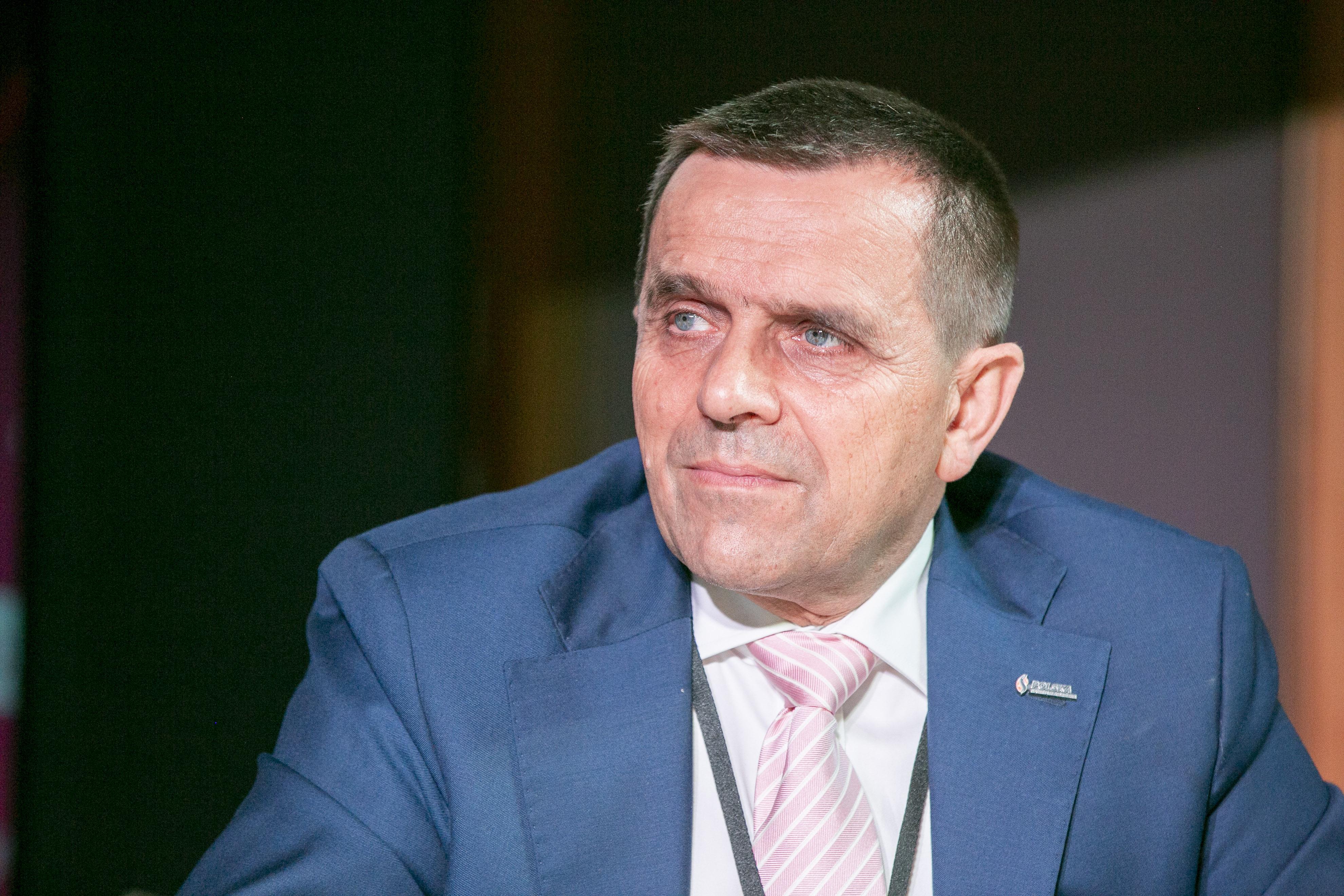 Prezes Polskiej Spółki Gazownictwa Marian Żołyniak (Fot. PTWP)