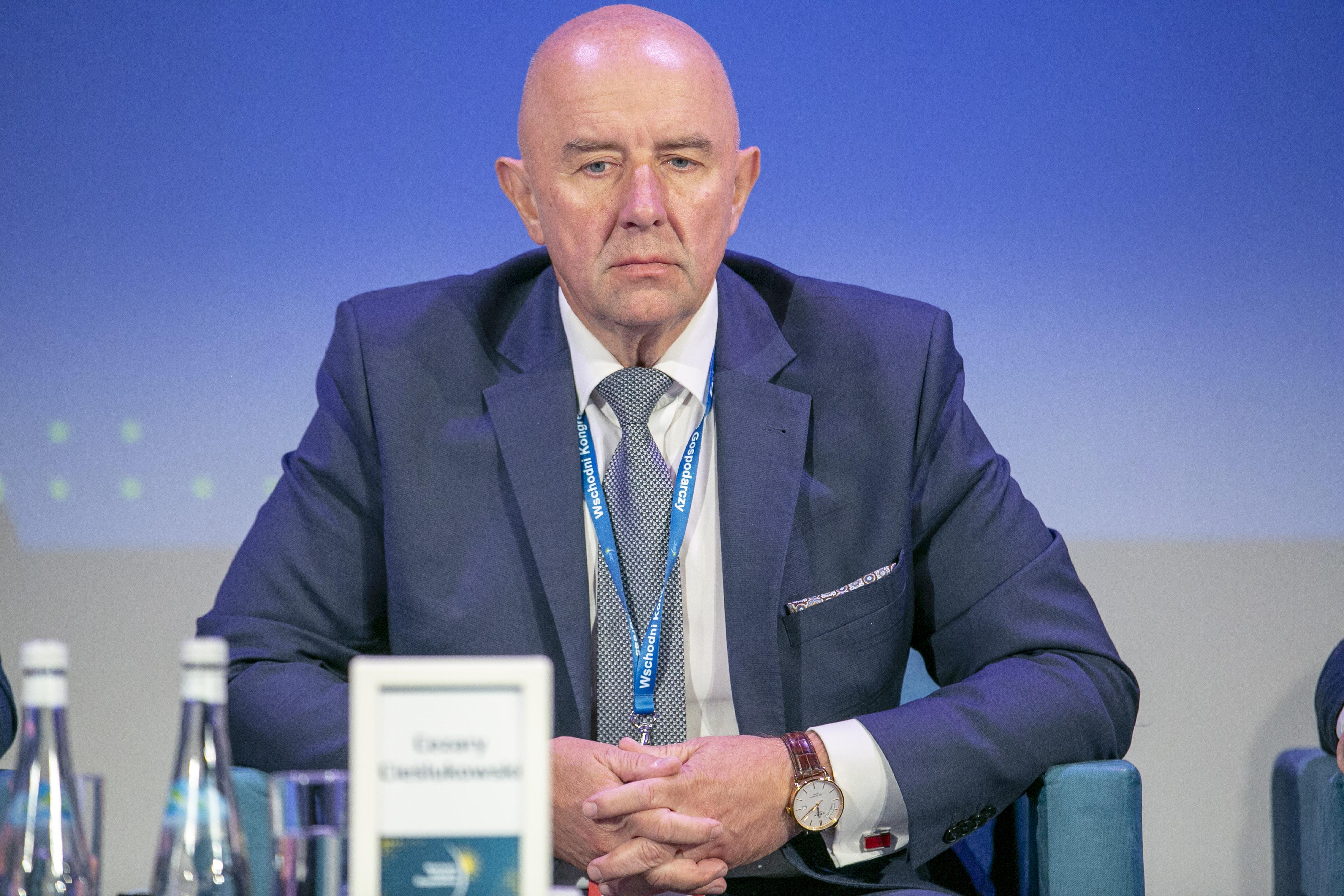 Cezary Cieślukowski, przewodniczący konwentu Stowarzyszenia Euroregion Niemen(fot. PTWP)