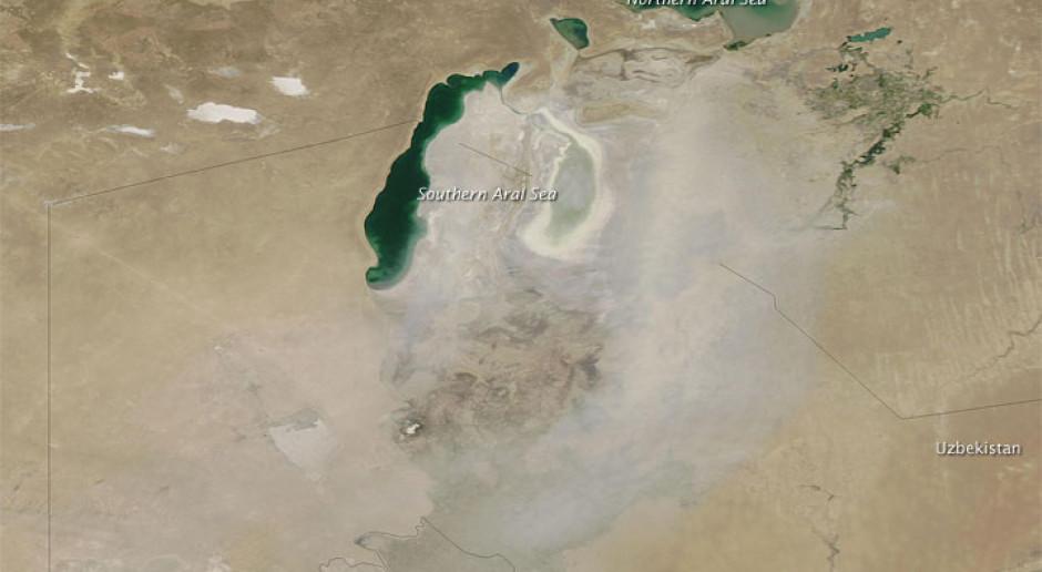 #TydzieńwAzji. Europejski Bank Inwestycyjny na ratunek Jezioru Aralskiemu