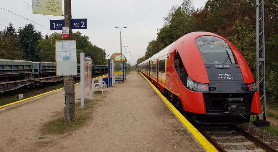Kolej wróci nad Zalew Zegrzyński