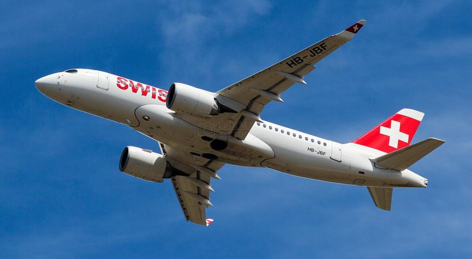 Cła pogrążyły kurs lotniczego producenta