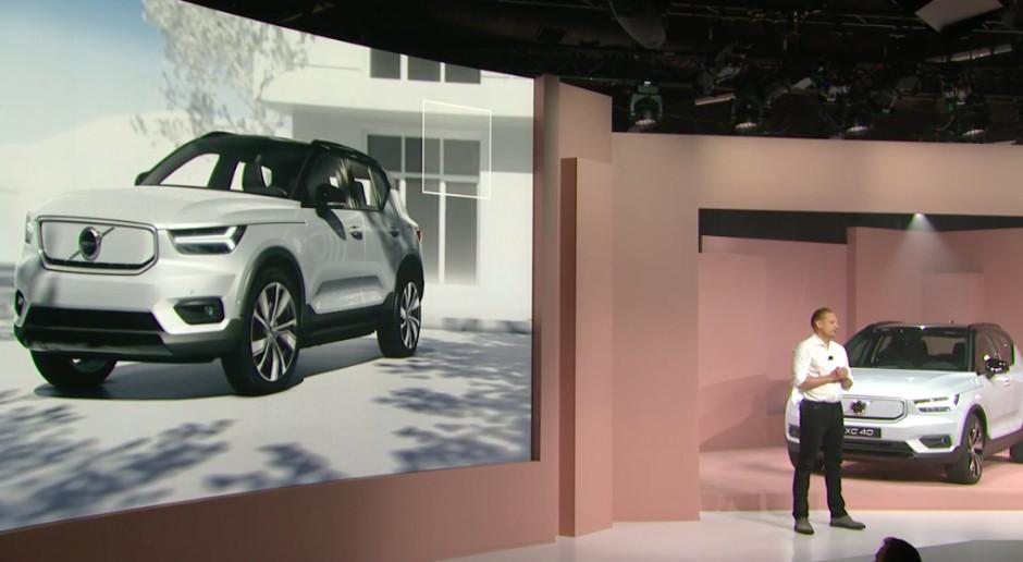"""Volvo prezentuje pierwszego """"elektryka"""". Będzie aktualizowany przez internet"""