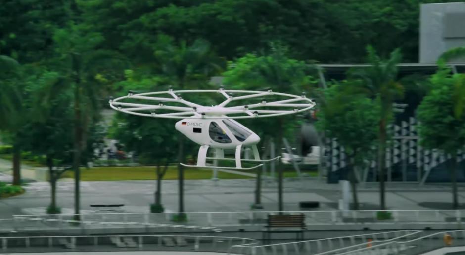 Volocopter zebrał 87 milionów euro na podniebną taksówkę