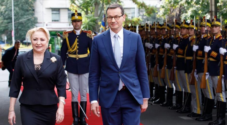 Morawiecki ma wsparcie kilku premierów ws. przewoźników drogowych