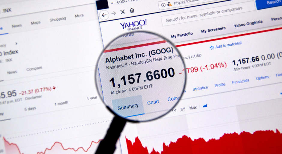 Zyski Alphabetu osłabione przez inwestycje w chmurę obliczeniową