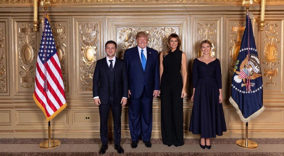 """Donald Trump """"chętnie zaprosiłby"""" prezydenta Ukrainy do Białego Domu"""