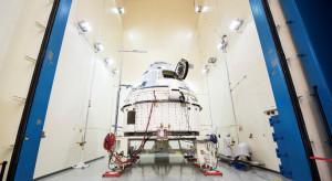 """Pojazd kosmiczny Boeinga zaliczył """"prawie"""" udane lądowanie"""