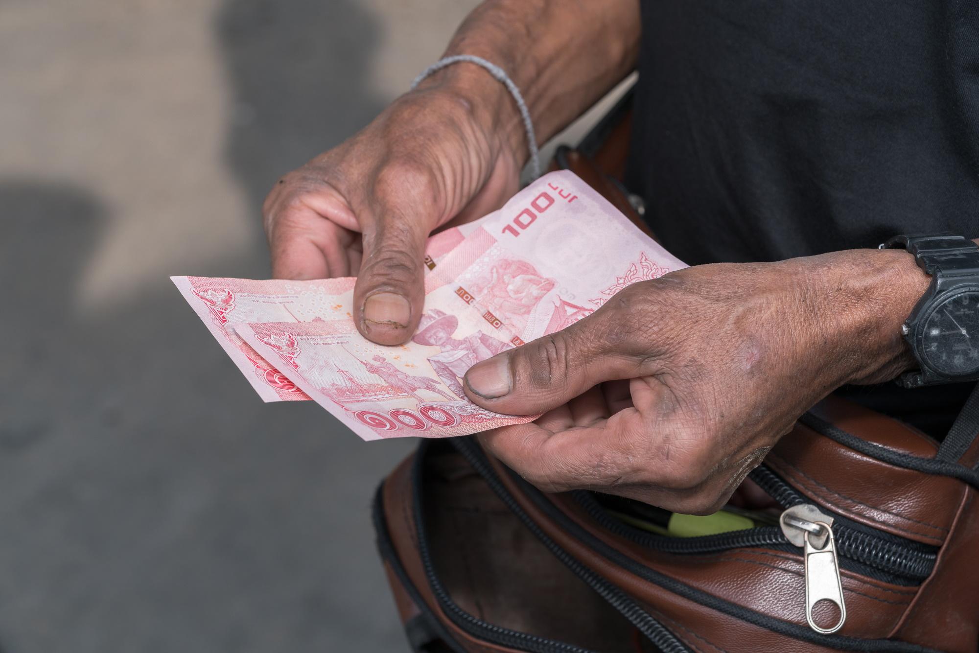 Tajlandzka waluta wzmocniła się w ciągu tego roku w stosunku do juana o 10 proc. Fot. Shutterstock