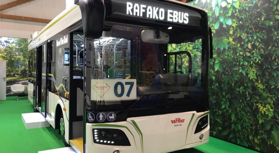 Prezes Rafako Ebus: Nasz autobus elektryczny w miastach pojawi się jeszcze w 2019 r.