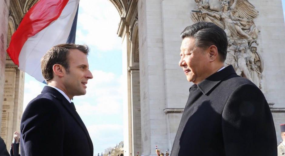 Francja: Prezydent Chin Xi Jinping przeciwko unijnemu planowi podatku węglowego