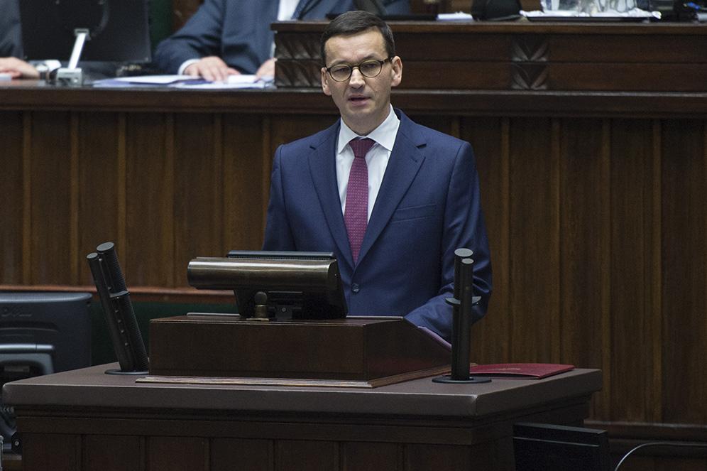 Premier Mateusz Morawiecki (Fot. mat. pras. archiwum)