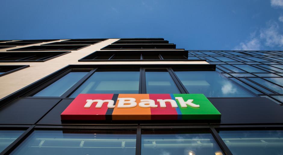 Zysk mBanku niemal dziesięciokrotnie niższy niż rok wcześniej
