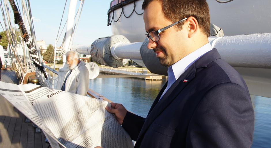 Nowy pełnomocnik rządu ds. CPK podał datę pierwszych lotów z superlotniska