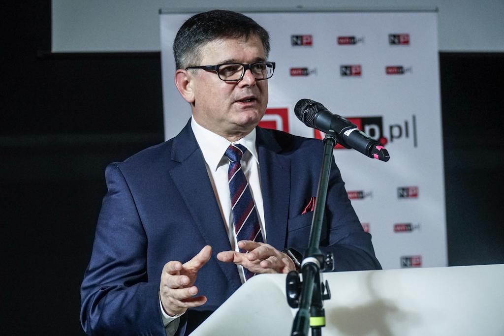 Adam Gawęda ocenił, że osiągnięcie neutralności klimatycznej krajowej energetyki oznacza koszty rzędu 130-140 mld euro. Fot. PTWP