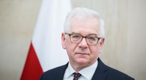 Szef MSZ przypomina, czym jest silna UE
