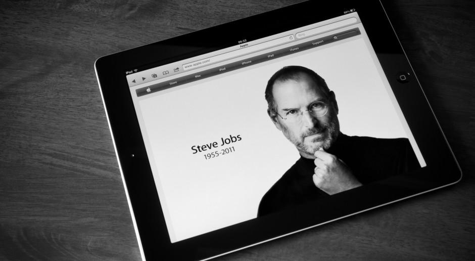 Bardzo droga dyskietka - bo z autografem Steve'a Jobsa