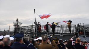ORP Ślązak już pod banderę wojenną