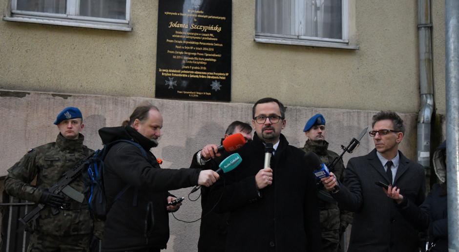 Marcin Horała: najpierw nowela o CPK i wybór doradcy strategicznego